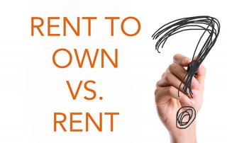 Rent to own vs rent