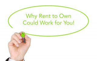 Why rent to own can work for you