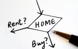 Home ownership versus renting