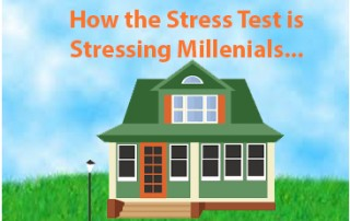 Millenials feeling the stress test pinch