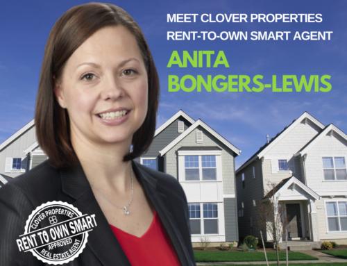 Clover Properties Featured Rent to Own Smart Agent: Anita Bongers-Lewis
