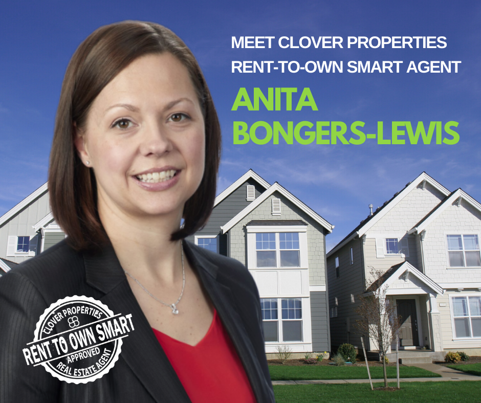 Clover Properties Featured Rent to Own Smart Agent: Anita Bongers-Lewis